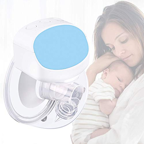 Stillpumpe, auslaufsichere elektrische Milchpumpe mit geringerem Geräuschpegel, 2 Modi Milchpumpen...