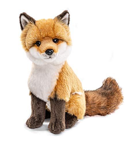 Uni-Toys - Rotfuchs klassisch - 27 cm (Höhe) - Fuchs, Waldtier - Plüschtier, Kuscheltier, braun, weiß,...