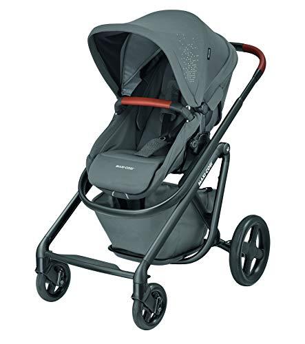 Maxi-Cosi Lila Luxe Komfort-Kinderwagen, geeignet ab Geburt, Reisesystem mit Stubenwagen, 0 Monate - 3,5...