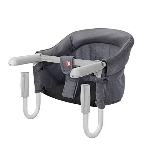 SONARIN Tischsitz Faltbar Babysitz,Baby Hochstuhl für zu Hause und Unterwegs mit...