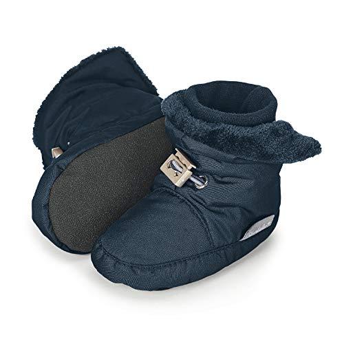 Sterntaler Jungen Baby Stiefel mit Klettverschluss, Farbe: Marine, Größe: 21/22, Alter: 18-24 Monate,...