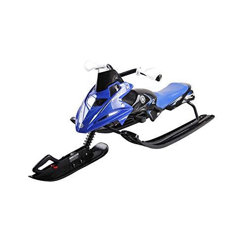 Niederohmig Ski,SYXX Kinderschneemobile, Unpowered Scooters auf Eis, Bremsen und Lenkung Roller, Schlitten,...