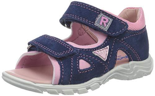 Richter Kinderschuhe Mädchen Jumbo Riemchensandalen, Blau (Nautical/Candy 6821), 26 EU