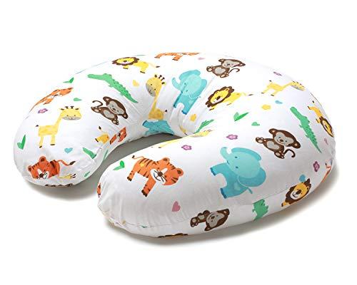 Niimo Stillkissen Klein Baby mit Stillkissenbezug aus 100% Baumwolle abnehmbar Multifunktionale Positionierung...