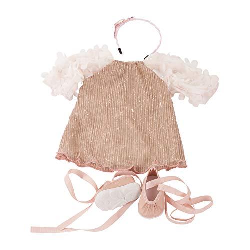 Götz 3402299 Kombination Boho Style - Puppenbekleidung Gr. XL - 4-teiliges Bekleidungs- und Zubehörset für...