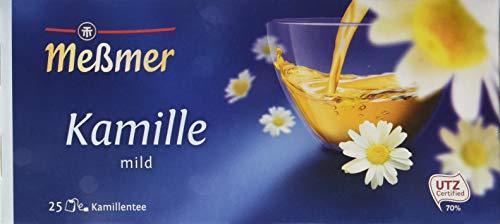Meßmer Kamille 25 TeeBeutel, 4er Pack (4 x 37,5 g)