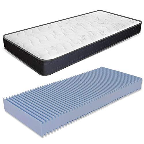 Matratze 80x160 cm, Höhe 13 cm - aus Waterfoam , Klappmatratze, Atmungsaktive, Antiallergisch und...