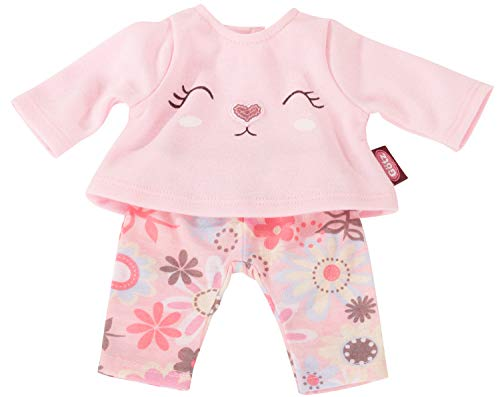 Götz 3403025 Babykombi Sommerhase - Puppenbekleidung Gr. S - 2-teiliges Bekleidungs- und Zubehörset für...