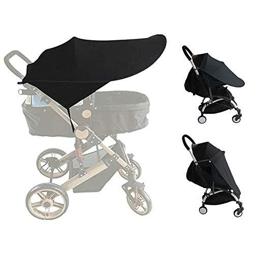 auvstar Baby Buggy Sun, Kinderwagen, Infant Kinderwagen Sonnensegel Baby Buggy schwarz Sun Shield, Sun Shield,...