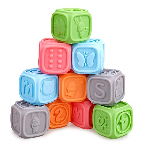 Baby Spielzeug für 6–18 Monate alte Jungen Mädchen, Geburtstag Geschenk, Montessori Spielzeug für Kinder...