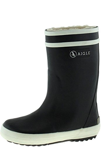 Aigle Lolly Pop Fur Gummistiefel, Unisex-Kinder Gummistiefel, Blau (marine 0), 38 EU (5 UK)