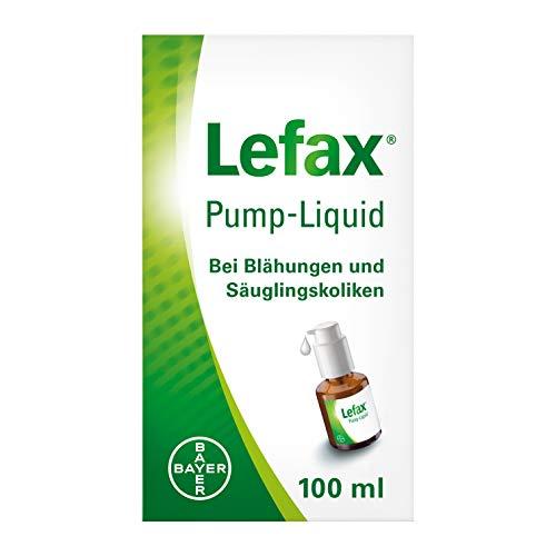 Lefax Pump-Liquid löst Babys Luftbläschen im Bauch, bei Blähungen und Säuglingskoliken, mit praktischer...