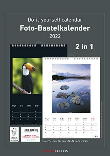 Foto-Bastelkalender Family 2022