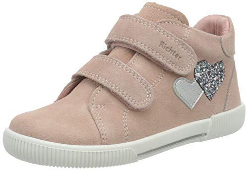 Richter Kinderschuhe Jungen Mädchen Vali Sneaker, Potpourri/Silver, 21 EU