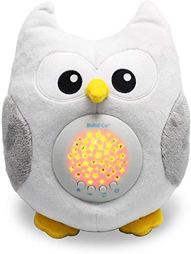 Spieluhr Baby Weisses Rauschen Spielzeug -Einschlafhilfe Babys- Eule Sound machine - Kleinkind Schlafhilfe...
