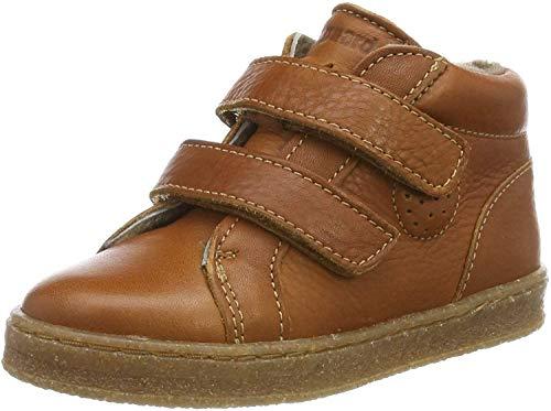 Bisgaard Unisex Baby Sinus Sneaker, Braun (Cognac 500), 24 EU