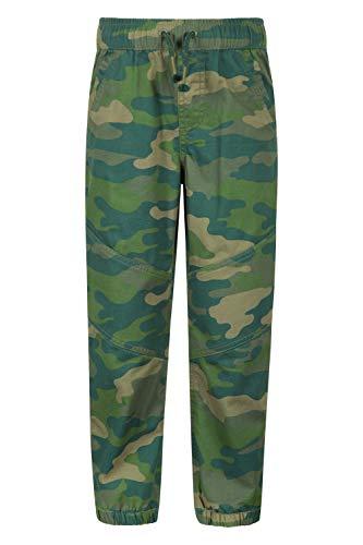 Mountain Warehouse Tarn-Kinderhose – Kinderhose aus 100% Baumwolle, Hose mit verstärktem Knie für...