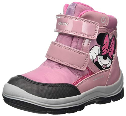 Geox Baby-Mädchen B Flanfil Girl B ABX Snow Boot, Rose, 20 EU