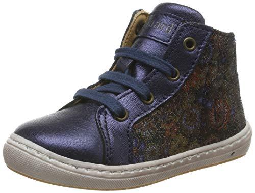 Bisgaard Baby Mädchen Sui Sneaker, Blau (Navy Flowers 615), 22 EU