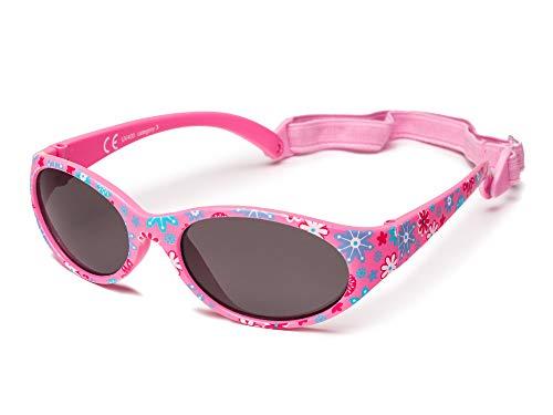 Kiddus Sonnenbrille Kids Comfort Junge und Mädchen. Alter 2 bis 6 Jahre. Total Flexible Modell für Extra...
