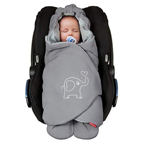 ByBoom Baby Einschlagdecke für die Übergangszeit und Sommer für Babyschale, Autokindersitz, z.B. Maxi-Cosi,...