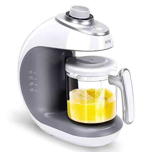 Babynahrungszubereiter KYG BFP-1800MT 5 in 1 Dampfgarer und Mixer für Babynahrung mit Dampfgaren Mixen...
