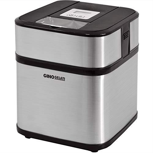 Syntrox Germany Edelstahl Eismaschine, Frozen Yogurt Maschine, Milchshake Maschine und Flaschenkühler Gino...