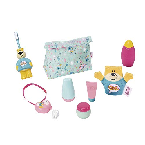 Zapf Creation 827116 BABY born Bath Wash & Go Badezimmer Set Puppenzubehör 43 cm, bunt