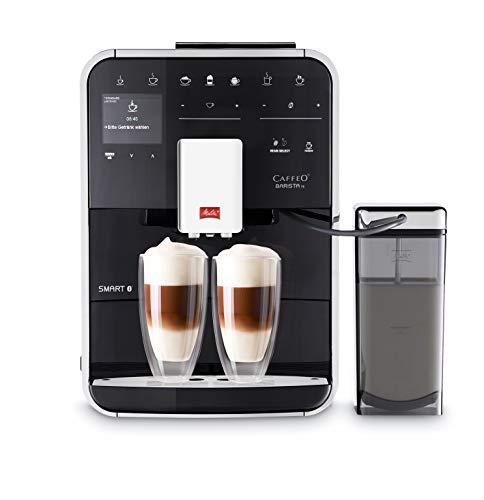 Melitta Caffeo Barista TS Smart F850-102, Kaffeevollautomat mit Milchbehälter, Smartphone-Steuerung mit...