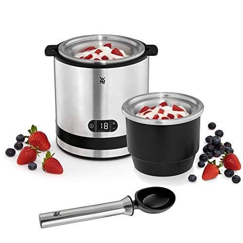 WMF Küchenminis 3-in-1 Eismaschine, Ice Maker für Frozen Joghurt, Sorbet und Eiscreme, Gefrierbehälter 300...