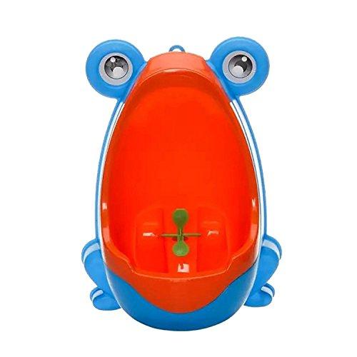 Pissoir für Jungen, niedlicher Frosch