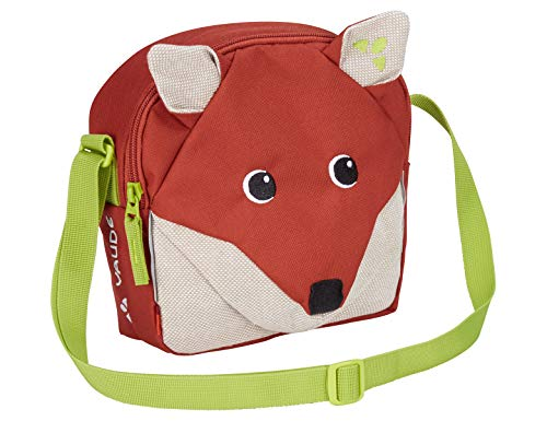 VAUDE Pepper, Umhängetasche in Fuchs-Optik Kinder-Rucksack, 19 cm, Redwood