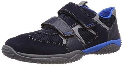 Superfit Jungen Storm Sneaker, Blau (Blau 80), 32 EU