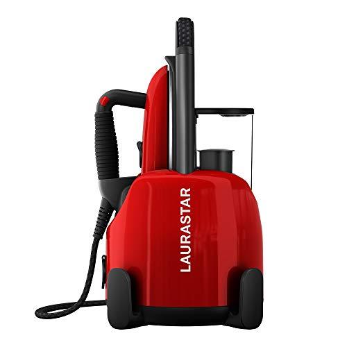 Laurastar Lift Original Red, Dampfbügelstation, 3-in-1 Bügelstation, die Ihre Kleidung entknittert, bügelt...