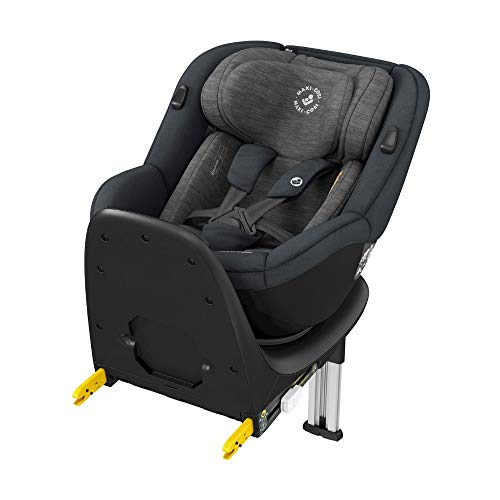 Maxi-Cosi Mica, 360° drehbarer i-Size Kindersitz inkl. ISOFIX Basis, Gruppe 0+/1 Autositz (bis ca. 105 cm /...