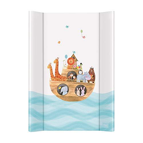 Wickelauflage Wickelunterlage Wickeltischauflage 2 Keil 70x50 cm Abwaschbar für Mädchen und Junge - Arka...