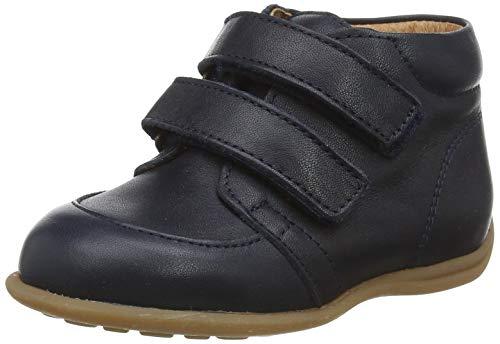 bisgaard luca Jungen Unisex Kinder First Walker Shoe, Navy, 25 EU