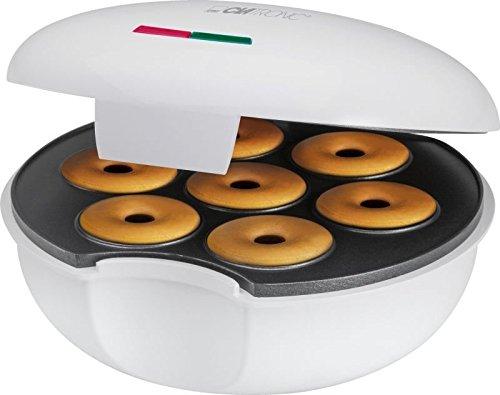 Donut-Maker Bagel-Maker mit Backampel für 7 Donuts/Bagel Waffeleisen Donuts-Gerät (sparsame 900 Watt +...