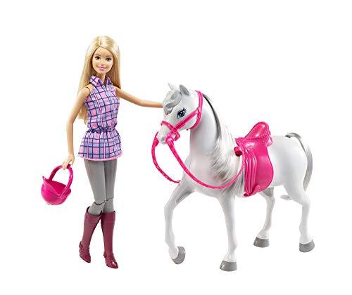 Mattel Barbie Puppe: Puppe mit Pferd