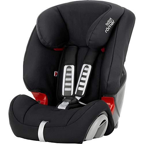 Britax Römer Kindersitz 9 Monate - 12 Jahre | 9 - 36 kg | EVOLVA 123 Autositz Gruppe 1/2/3 | Cosmos Black