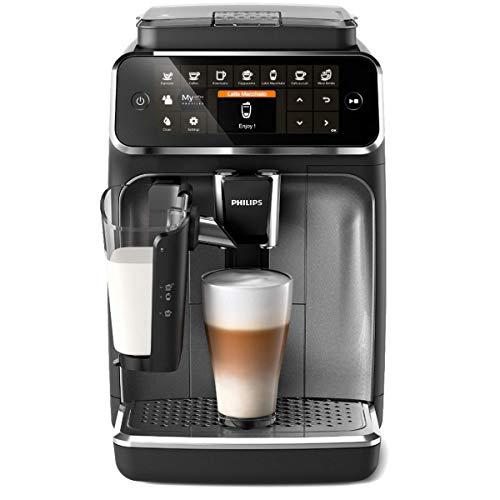 Philips 4300 Serie EP4346/70 Kaffeevollautomat, 8 Kaffeespezialitäten (LatteGo Milchsystem)...