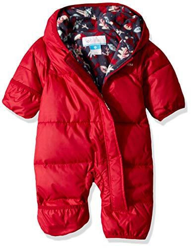 Columbia Sportswear Jungen Snuggly Bunny Bunting Daunenjacke, Pomegranate, No, 12/18