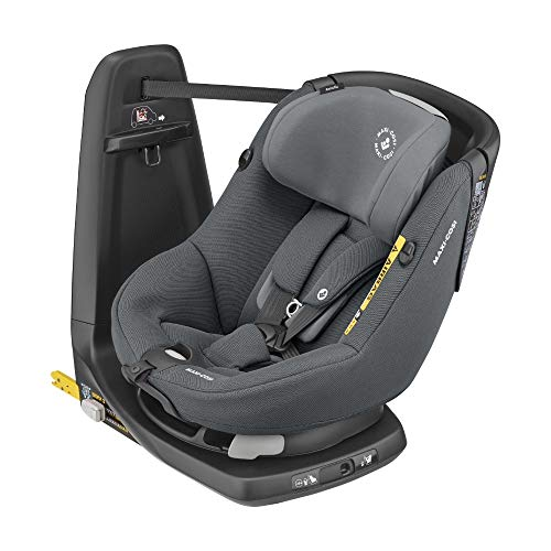 Maxi-Cosi AxissFix-Kleinkindersitz, drehbarer Kindersitz, 4 Monate - 4 Jahre, 61 - 105 cm, Authentic Graphite...