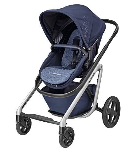 Maxi-Cosi Lila Bequemer Kinderwagen, geeignet ab dem ersten Tag, Reise-System mit Babykörben, 0 Monate - 3,5...