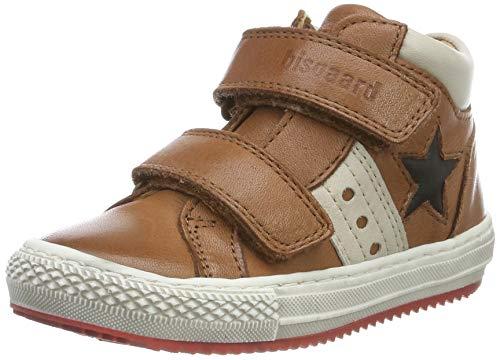 Bisgaard Herren Jacob Hohe Sneaker, Braun (Cognac 502), 38 EU