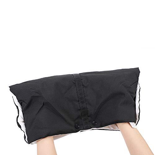 LONTG Kinderwagen Handschuhe Wasserdichte Handwärmer mit Plüschfutter Oxford Tuch Handmuff Verdickte...