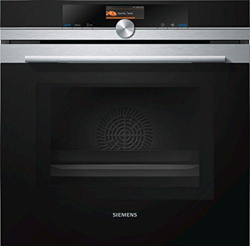 Siemens HM676G0S6 iQ700 Einbau-Elektro-Backofen mit Mikrowelle / Edelstahl / Smart Home kompatibel via Home...