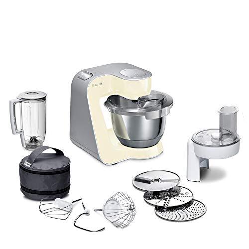 Bosch MUM5 CreationLine Küchenmaschine MUM58920, vielseitig einsetzbar, große Edelstahl-Schüsssel (3,9l),...