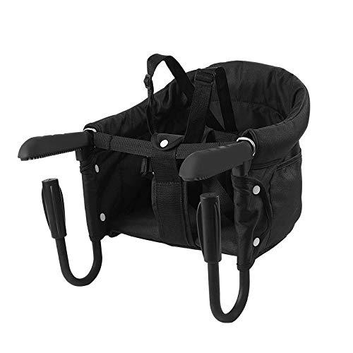 Surplex Tischsitz Faltbar Babysitz, Baby Hochstuhl Sitzerhöhung mit Transporttasche, für Kleinkind Carrier...