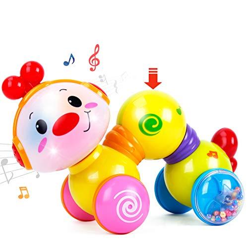 CubicFun Baby Musik Spielzeug für 6 Monate, Kriechendes und Singendes Musikalisches Babyspielzeug für...